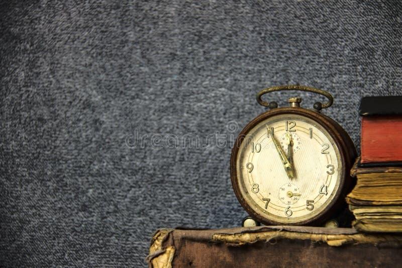 Despertador do vintage imagens de stock