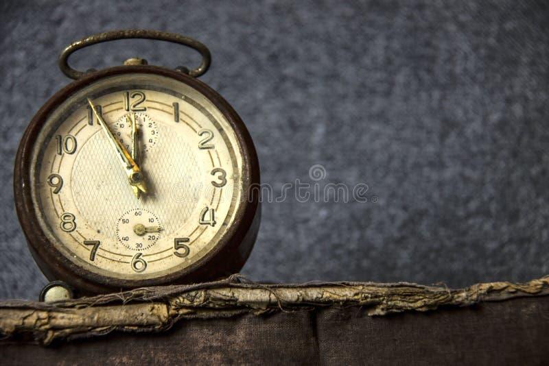 Despertador do vintage imagem de stock