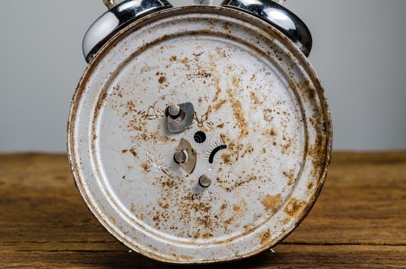 Despertador retro foto de stock
