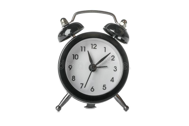 Despertador retro bonito isolado imagem de stock