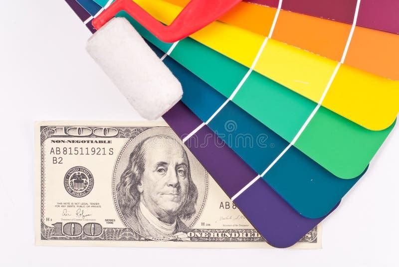 Despesas da melhoria Home imagens de stock royalty free