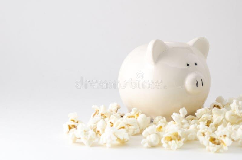 Despesas do petisco e de entretenimento imagens de stock royalty free