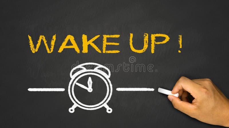 ¡Despierte! foto de archivo