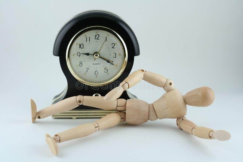 Despierte el tiempo fotografía de archivo libre de regalías