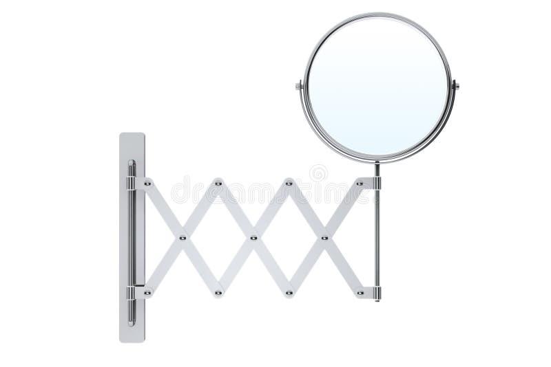 Desplazamiento del espejo del maquillaje de Chrome libre illustration