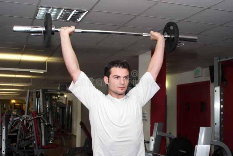 Desportista na ginástica 2 imagem de stock