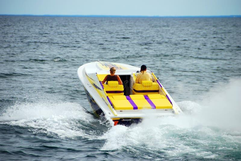 Desporto de barco da potência imagem de stock royalty free