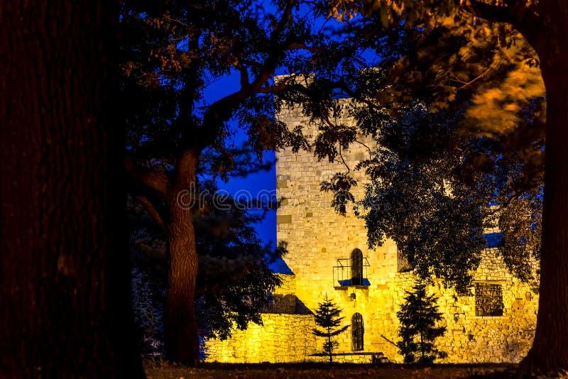 Despot Stefan Tower på Kalemegdan parkerar belgrade serbia fotografering för bildbyråer