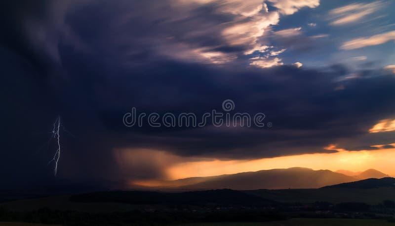Después de tormenta… fotografía de archivo