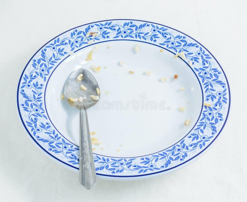 Download Después de comida foto de archivo. Imagen de cuchara - 41917386
