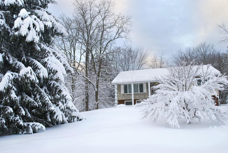 Después de la nieve fotografía de archivo libre de regalías