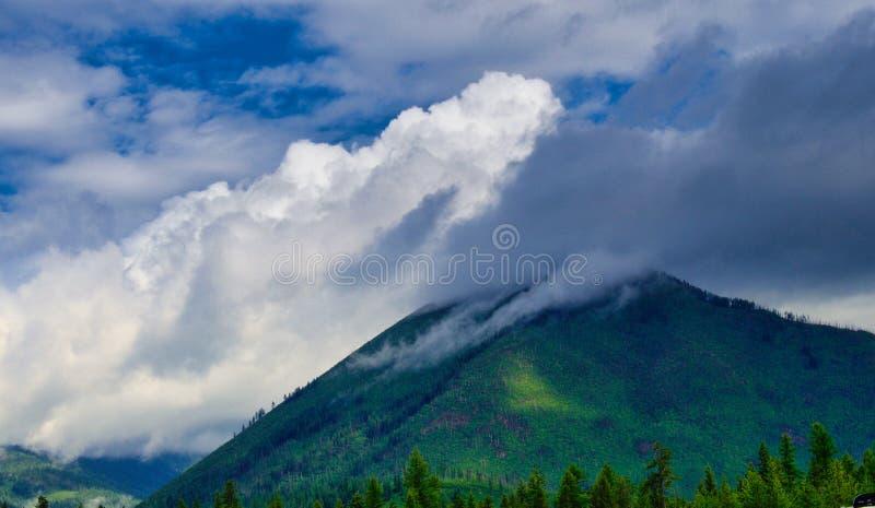 Después de la tormenta en Montana imagen de archivo libre de regalías