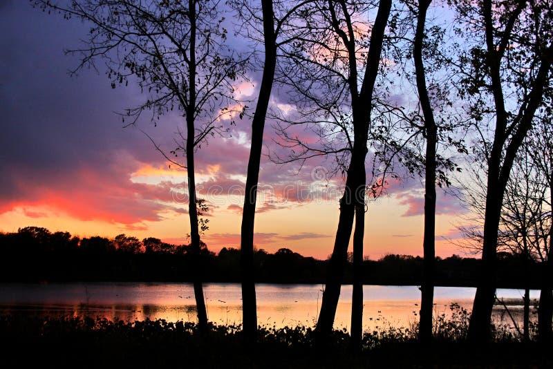 Download Después de puesta del sol foto de archivo. Imagen de tarde - 44854298