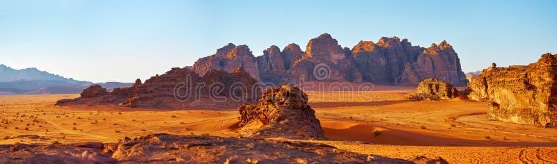 Desert ofWadi Rum royalty free stock image