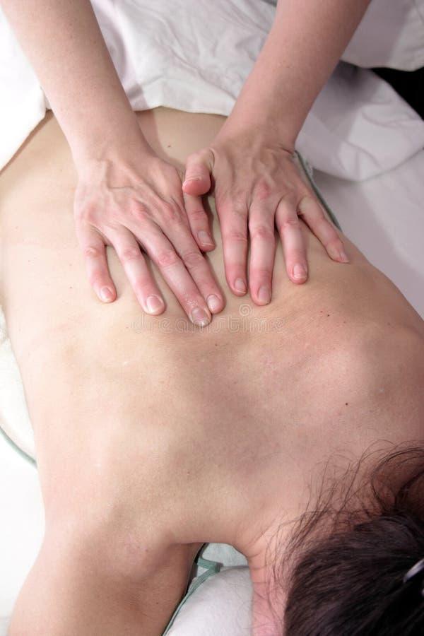Desserrez le massage photos libres de droits
