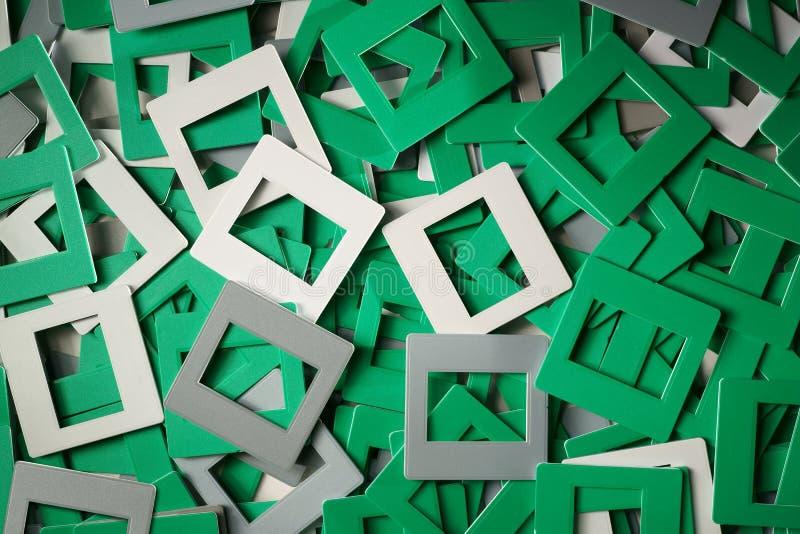 Desserrez les cadres de glissière photos stock