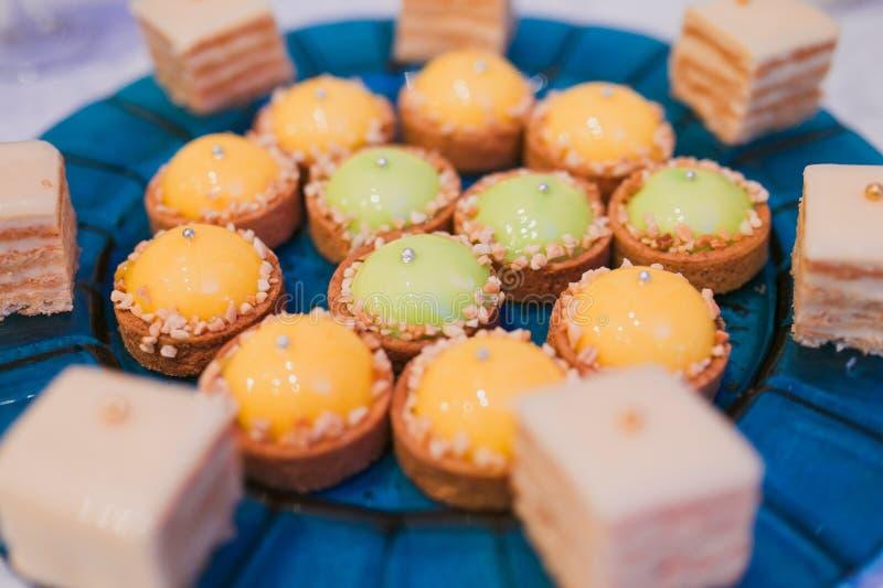 Dessert à la crème photos stock