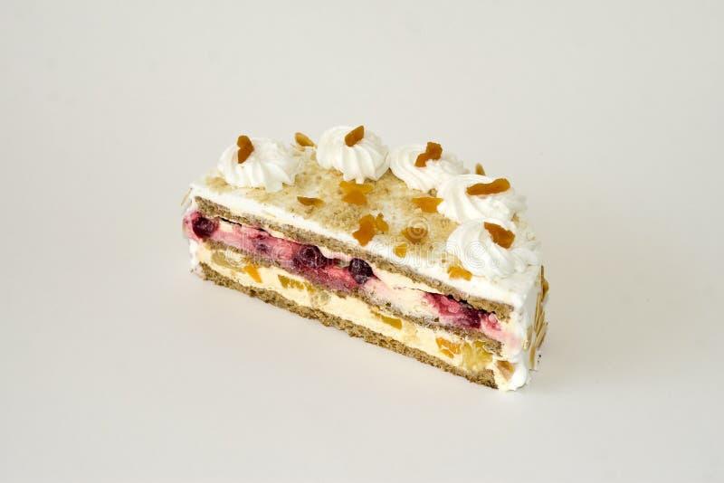 dessert à la crème de gâteau luxueux photos libres de droits