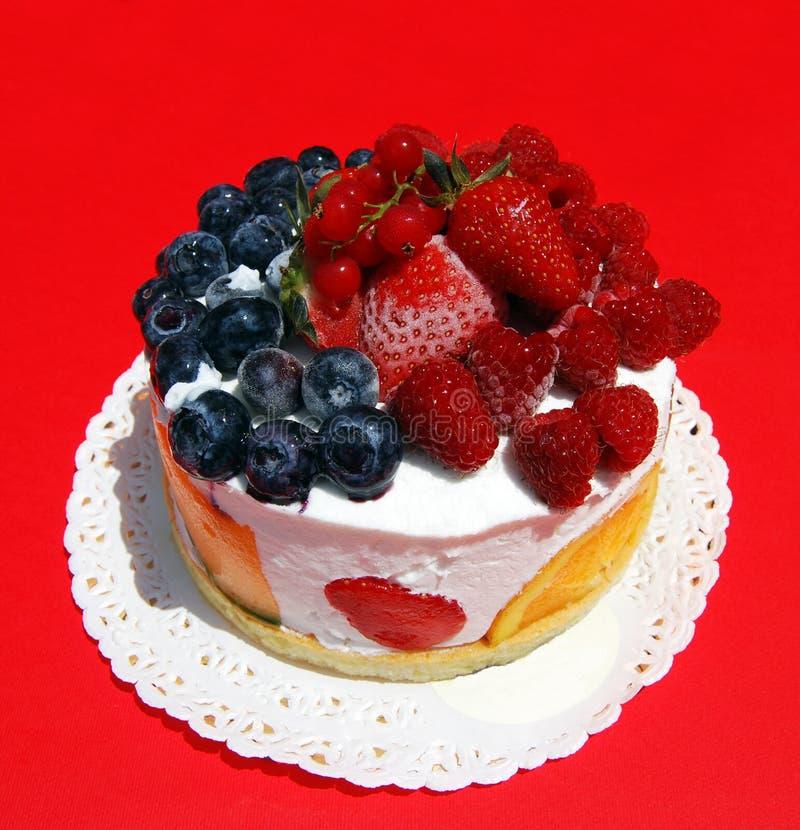 Dessert. Icecream dessert with various type of fruits stock photo