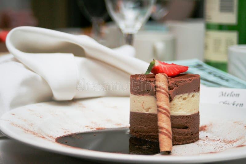 Dessert royalty-vrije stock afbeeldingen