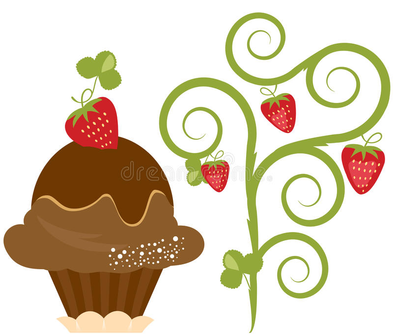 Dessert vector illustratie