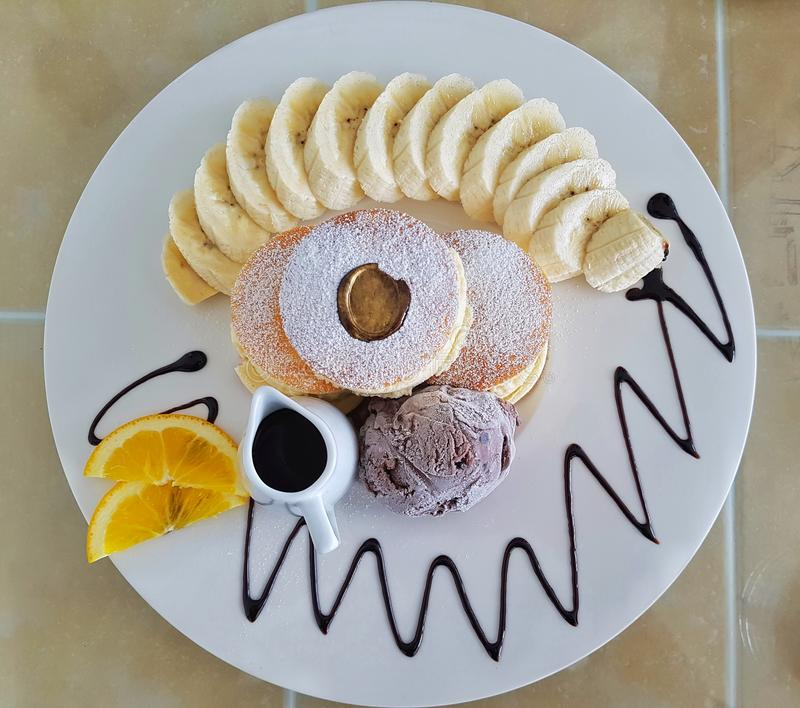 Dessert photo stock