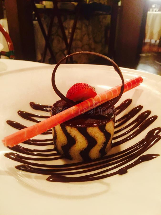 Dessert art royalty free stock photos