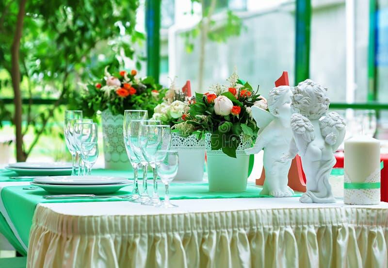 Dessert au banquet photo libre de droits