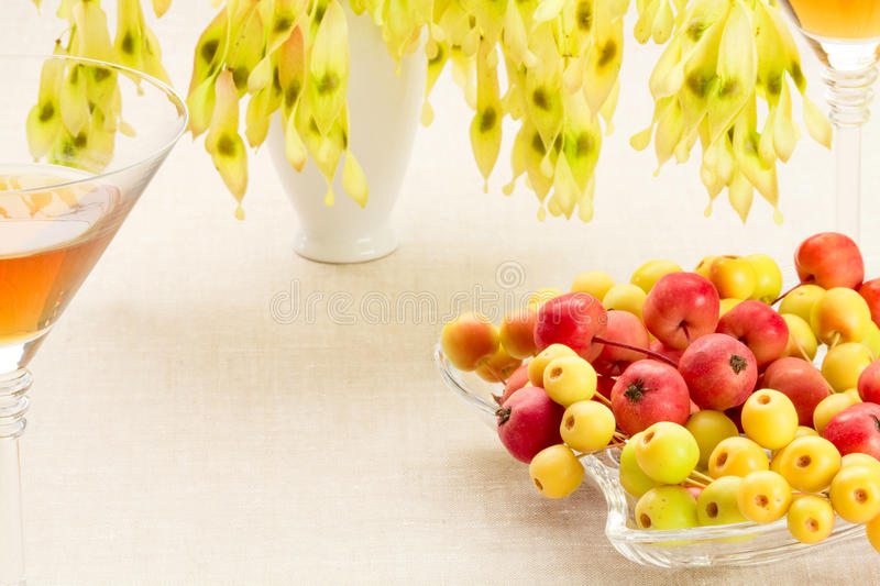 Dessert from autumn royalty free stock images
