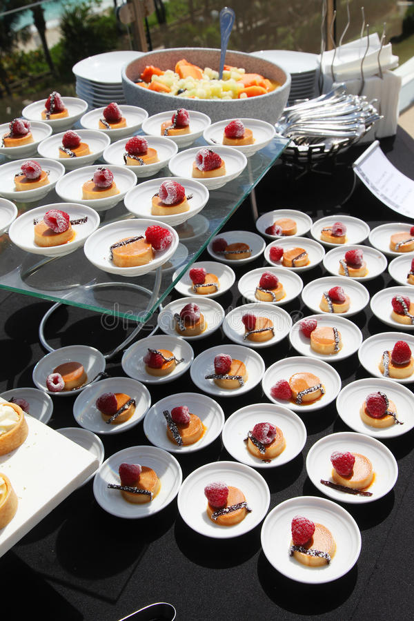 Download Dessert buffet stock image. Image of servings, many, dishes - 23941211