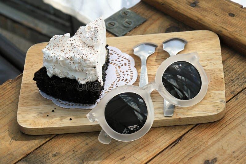 Dessert, café doux images stock