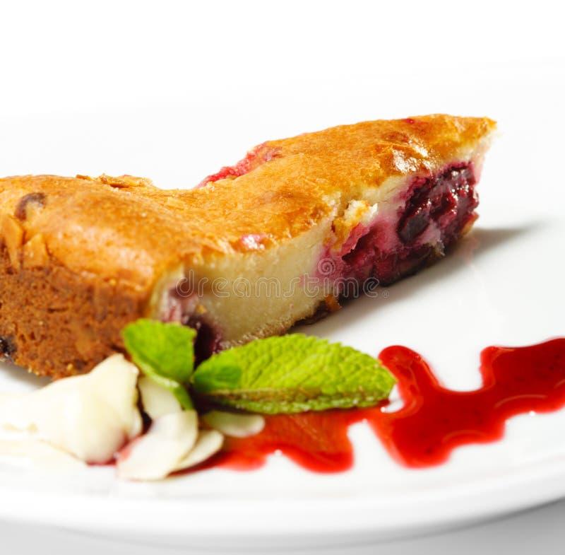Download Dessert - Cherries Cake stock photo. Image of isolated - 9802518