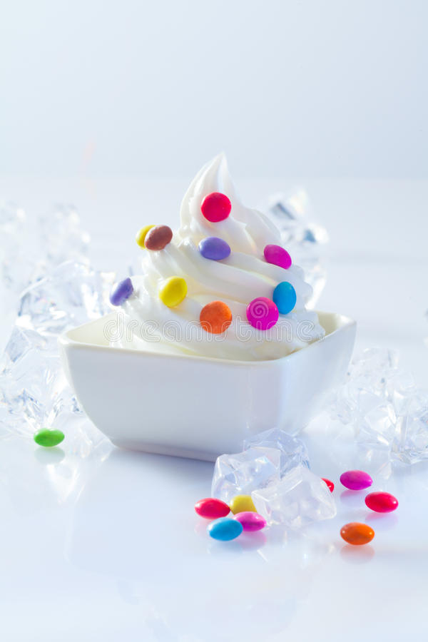 Dessert for a childs birthday party royalty free stock image