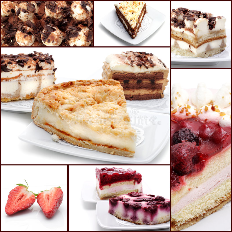 Download Dessert Collage Stock Photos - Image: 7988873