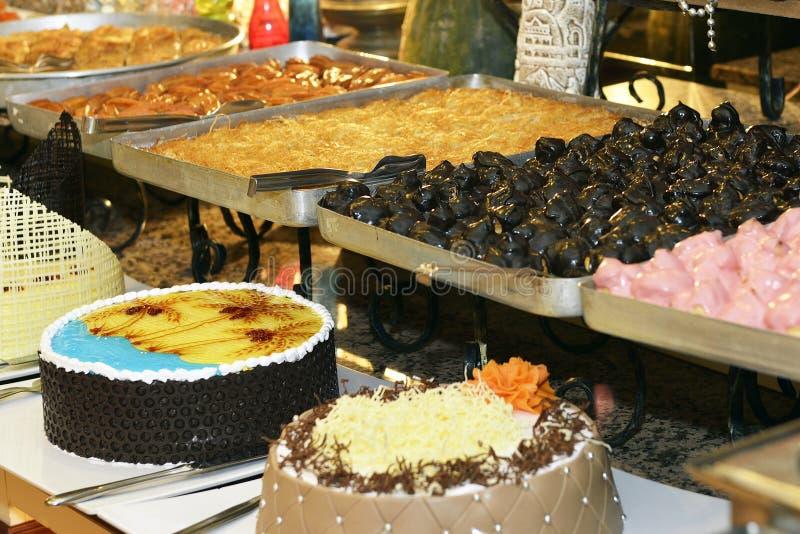 Dessert Corner Buffet royalty free stock image