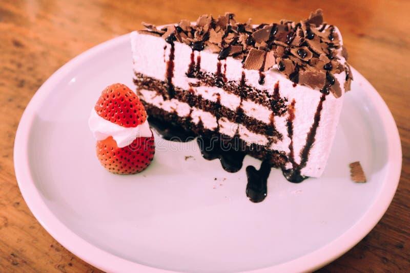 Dessert d'apr?s-midi photographie stock