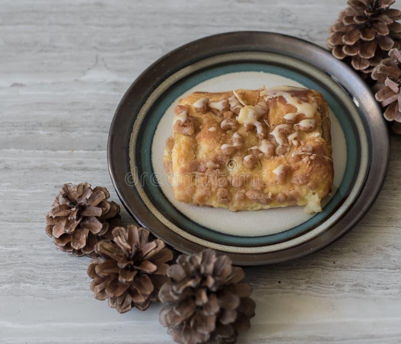Dessert danese fotografia stock libera da diritti