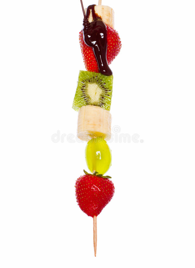 Dessert de fruit. photo stock