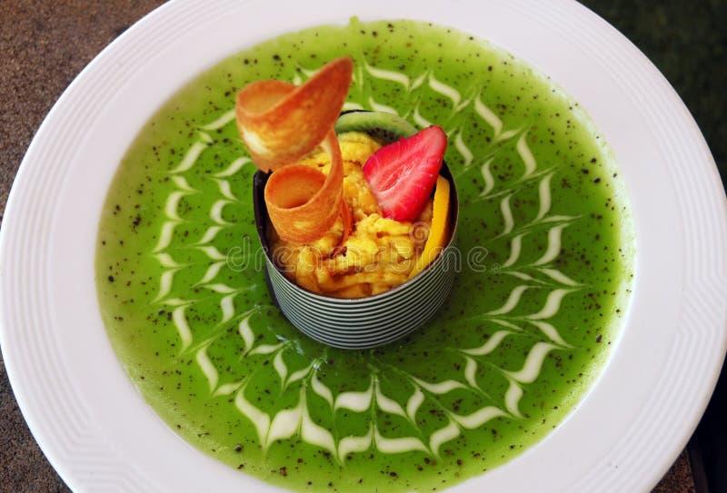 Dessert de fruit photo libre de droits