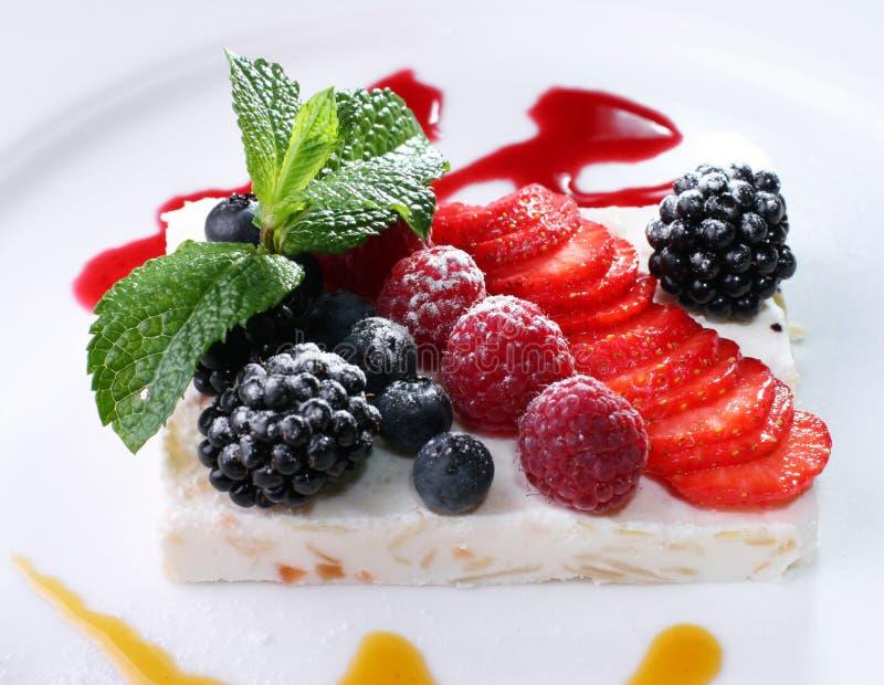 Dessert de fruit images stock