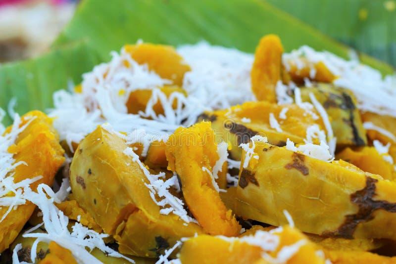 Download Dessert De La Thaïlande - Banane, Potirons, Maïs, Soja, Décharge Douce Image stock - Image du couleurs, déshydraté: 45369193