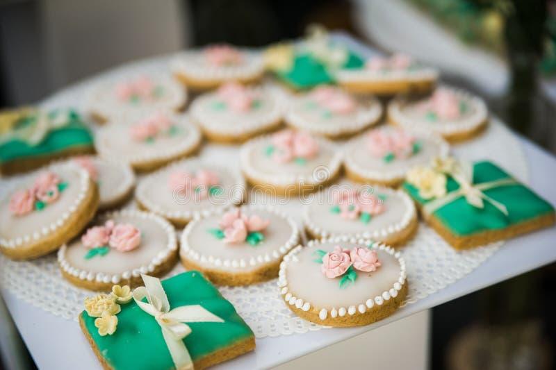 Dessert de mariage photo stock