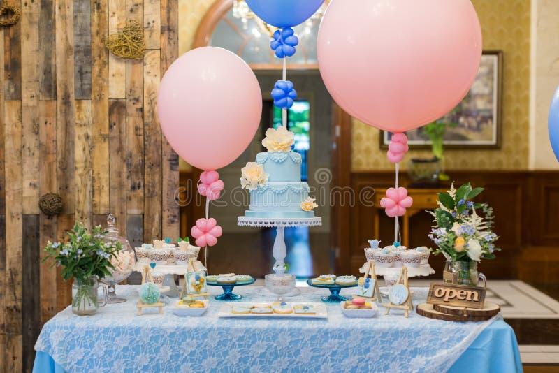 Dessert de mariage photos stock