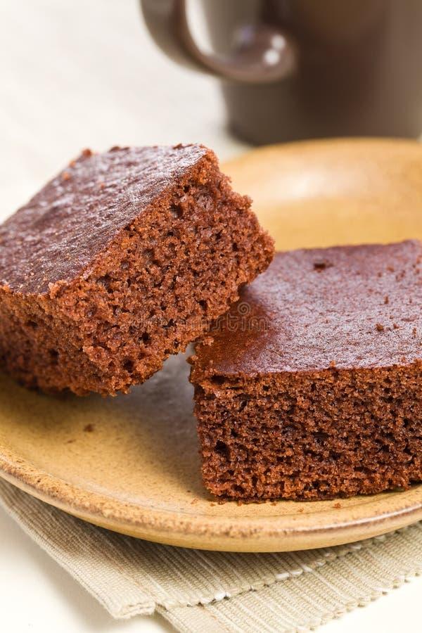 Dessert del cioccolato zuccherato immagine stock libera da diritti