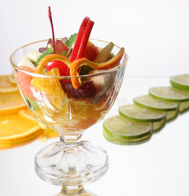 Dessert di frutta fresca fotografia stock libera da diritti