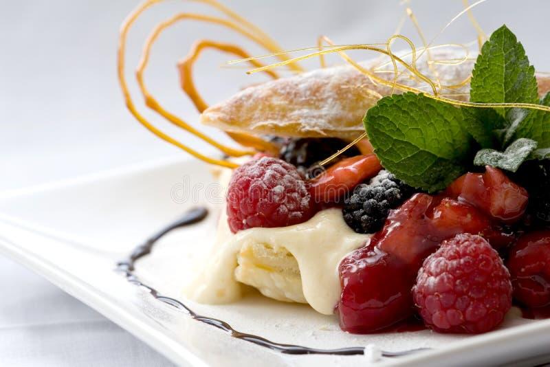 Dessert della pasticceria immagine stock libera da diritti