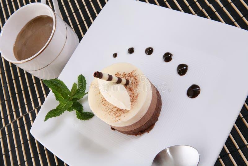Dessert della torta fotografie stock libere da diritti