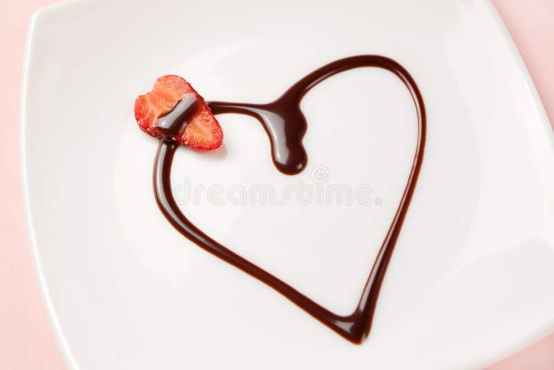 Dessert di amore immagini stock libere da diritti