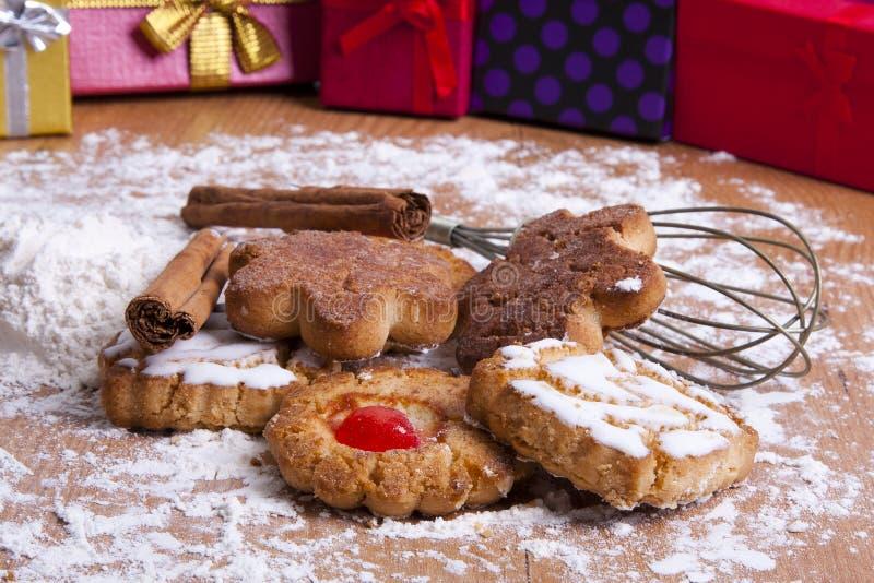Dessert di Natale immagini stock