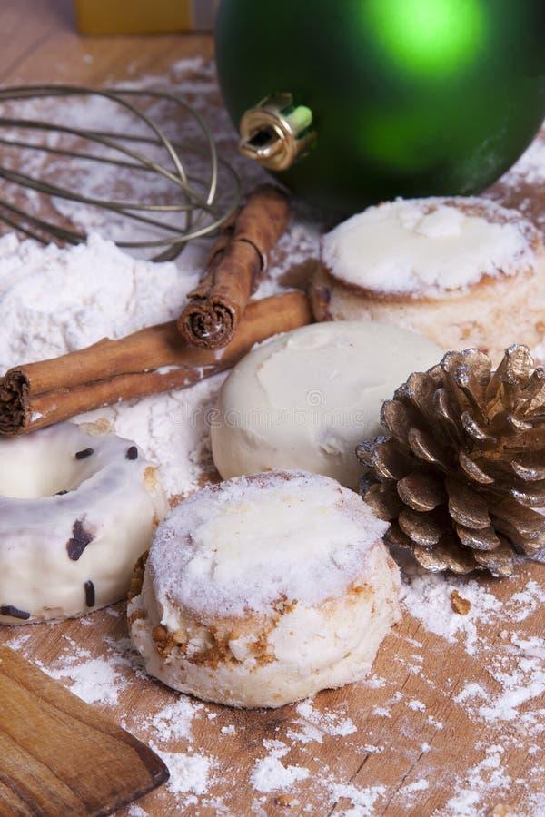 Dessert di Natale fotografia stock
